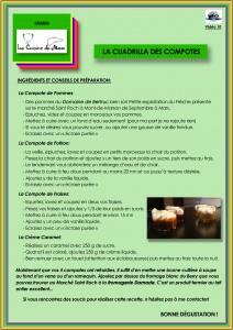 Recette 10 La Cuadrilla des Compotes